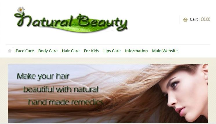 Natural Beauty Shop